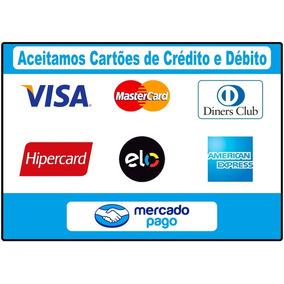 Adesivo Grande A Prova Dágua De Cartão Crédito E Débito !