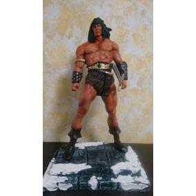 Conan O Bárbaro Marvel Estátua De Resina