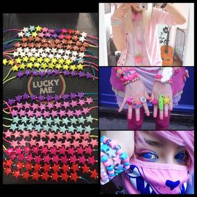 Lote 12 Pulser Estrella Niña Kawaii Girl Lolita Pastel Goth