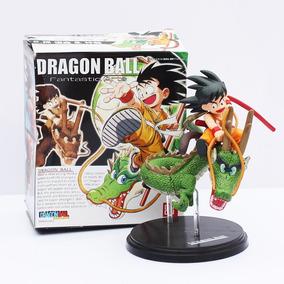 Action Figure Dragon Ball Z - Goku E Shenlong
