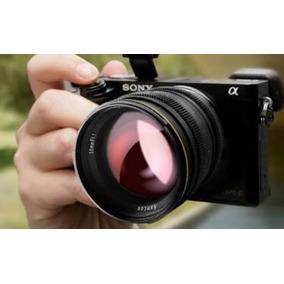 Lente Clara Kamlan 50mm F/1.1 Para Sony E-mount A6500 A7s