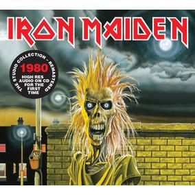 Cd Iron Maiden Iron Maiden 1980 Remastered Original Lacrado