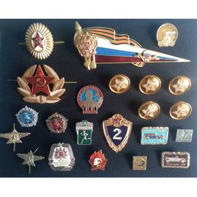 Lote Insígnias, Pins Extinta União Soviética - Rússia Cccp