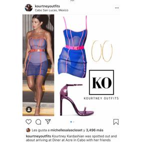 Vestido Kourtney Kardashian No Gucci