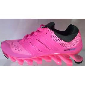 adidas springblade feminino rosa mercadolivre