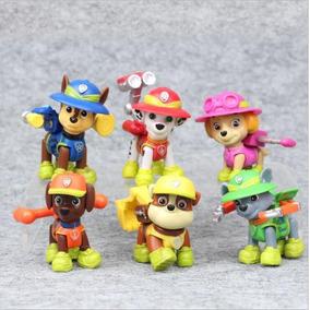 Promoção Natal - Bonecos Patrulha De Cães Miniaturas Canina