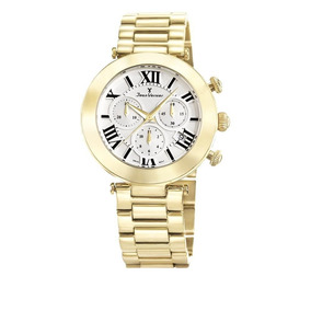 c9dbc00c1a4 Relógio Jean Vernier Mostrador Olho De Tigre - Relógios no Mercado ...