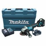 Esmerilhadeira A Bateria 4.1/2 18v Bivolt Com Maleta Makita