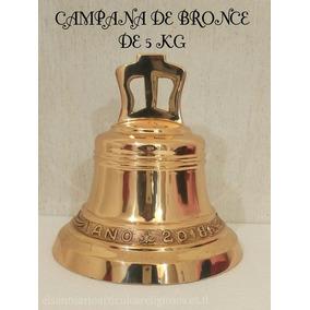 Campana Chica De Bronce (para Media Misa)