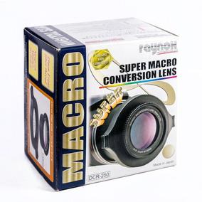 Raynox Dcr-250 Lente Super Macro Close-up Canon Nikon 18-55