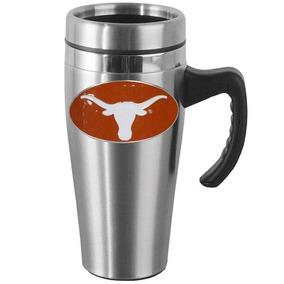 Taza De Viaje C asa De Los Texas Longhorns Ncaa Acero Inox. 9bb82e5e964