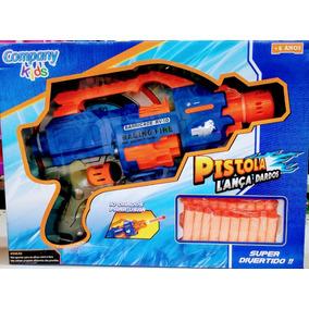 Pistola Nerf Lança Dardos - Com 20 Dardos - Frete Grátis