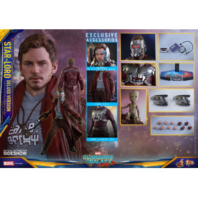 Star Lord Deluxe 1/6 Hot Toys-( Guerra Infinita)