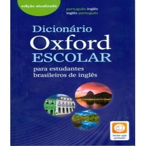 4908891e3b Dicionario Oxford Escolar - 3º Edição - With Access Code