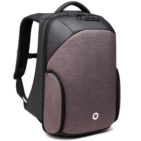 Mochila Ozuko Backpack Candado Antirobo Impermeable Usb