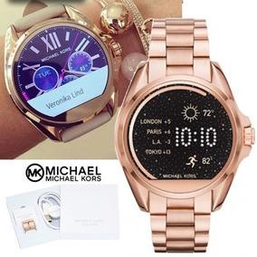 83dae1275c027 Relogio Michael Kors Mkt5004 Access Smartwatch Rosê Original