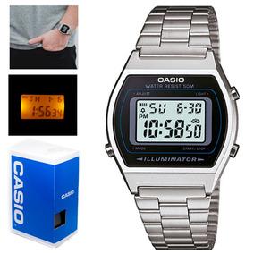 96b04ba99e78 Casio Retro Negro Metal - Reloj para Hombre en Mercado Libre México