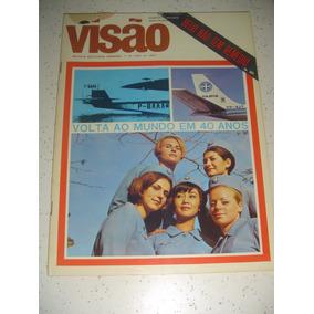 Revista Visão 1 Vol. 31 Aviação Varig 40 Anos Roberto 1967