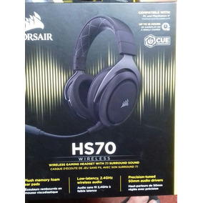 Headset Wireless 7.1 Corsair Hs70