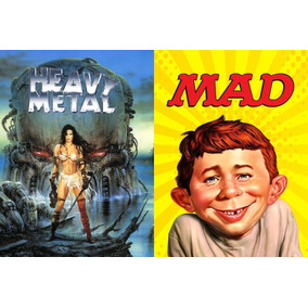 Dvd Interativo - Revistas Digitais Mad & Heavy Metal