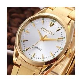 Relógio Chenxi Masculino Pulseira De Aço Inoxidável
