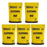 Kit 5x Albumina - 500g Refil Natural - Naturovos