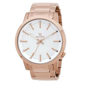786839ca71d Relógio Rip Curl Detroit Gold Dourado - Relógios De Pulso no Mercado ...
