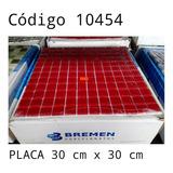 Kit C/ 11 Papel Parede Pastilha Vidro Revestimento Vermelho