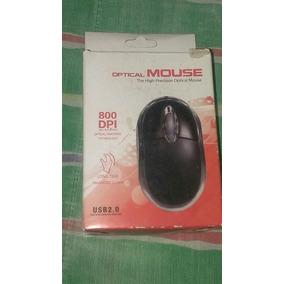 Mouse Alambrico Usb Optico 2.0