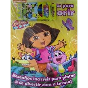 Dora A Aventureira: Revista Para Colorir/ Entrega Garantida