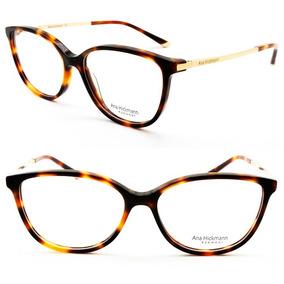 Óculos, Armação De Grau Ana Hickmann Metal Dourado - Óculos con ... fa85bdf48d