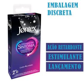 Jontex Orgasmo Em Sintonia C/4 4cx=16