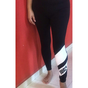 Leggings Juicy Couture Negro Deportivos Largo Promo Buen Fin