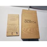 Caja, Galaxy S4, Samsung, Caja, Usada Y Original
