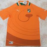 Camisa Seleção Costa Do Marfim - Futebol no Mercado Livre Brasil 720447342f729
