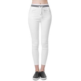 Anself Nueva Moda Mujer Pantalones Xxl Branco 666eb9e7f646