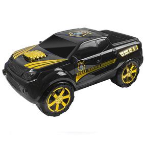 Brincando Com Pick Up Texas Policia Federal - Bs Toys