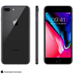 Iphone 8 Plus Cinza Espacial Tela 5,5 4g 64gb 12mp Mq8l2bz/a