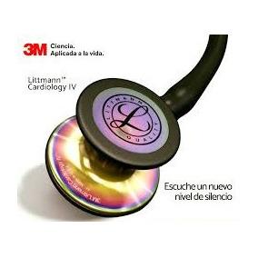 Estetoscopio Littmann 3m Cardiology Iv Negro Completo