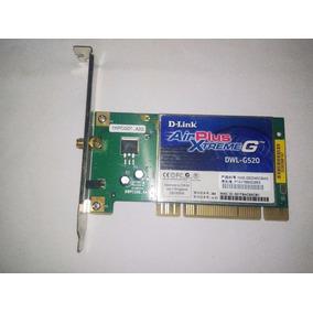 Tarjeta De Red Pci D-link Air Plus Xtreme G Dwl-g520