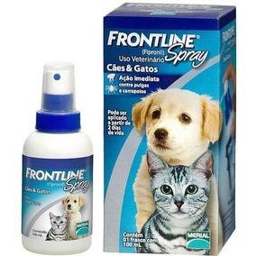 Antipulgas Frontline Spray Para 100ml Cães E Gatos - 06/2020