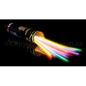 100 Pulsera Neon Glow Cyalume Animación Batucada Fiesta