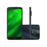 Motorola Moto G6 Plus 64gb Indigo - Somos Loja - Nf