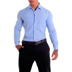 Camisas Microfibra Masculina - Camisa Social Manga Longa Masculinas ... 99cb34f7d5945