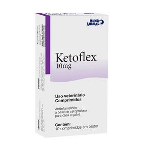 Ketoflex Mundo Animal 10 Comprimidos
