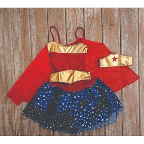 Disfraz Infantil Mujer Maravilla-wonderwoman
