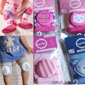 Rodilleras Para Bebe X3 Pares Diseños Exclusivos Usa Calidad