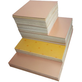 5 Placas De Fenolite Cobreada 40x30