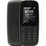 Celular Nokia 105 2 Chip Dual Band Preto - Tim - Claro E Oi