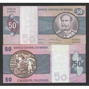 Brasil 50 Cruzeiros C143 S/fe Cédula - Tchequito